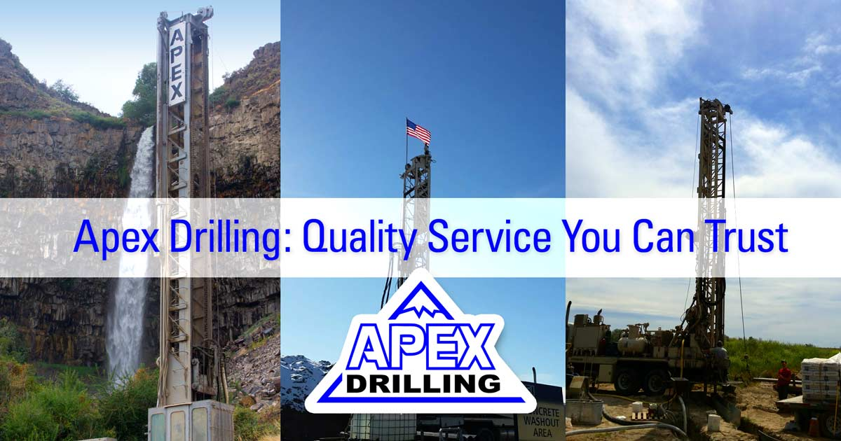 Apex Drilling: Quality Service You Can Trust