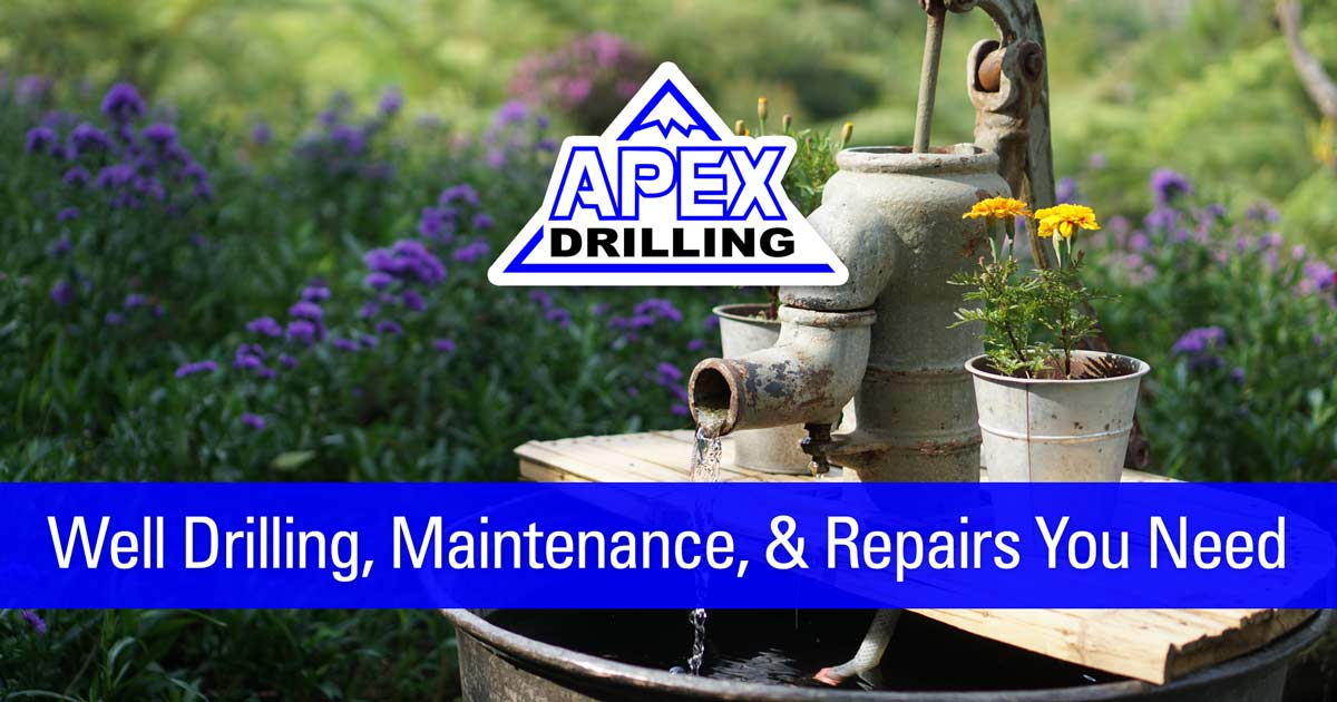 Providing Well Drilling, Maintenance, and Repairs You Need