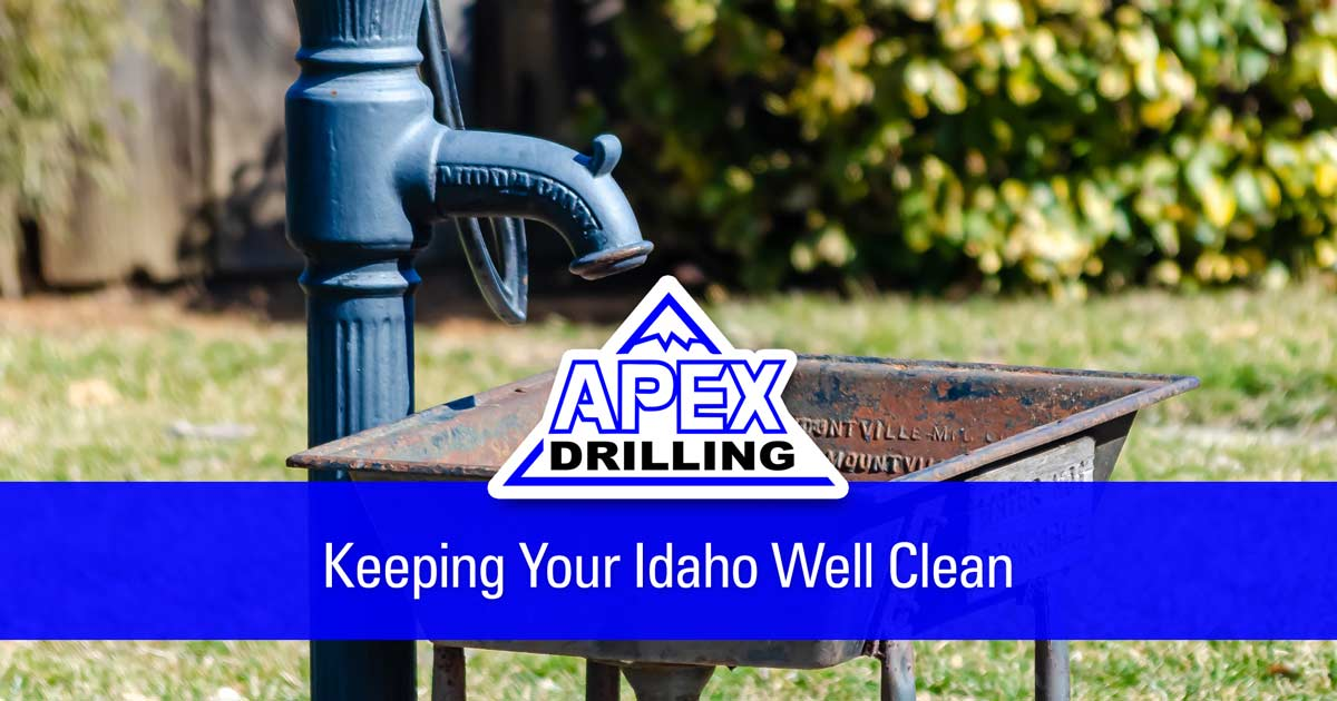 Keeping Your Idaho Well Clean
